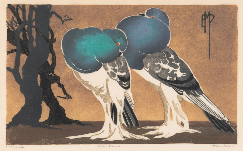 Ethleen Palmer - Pouter Pigeons 1934