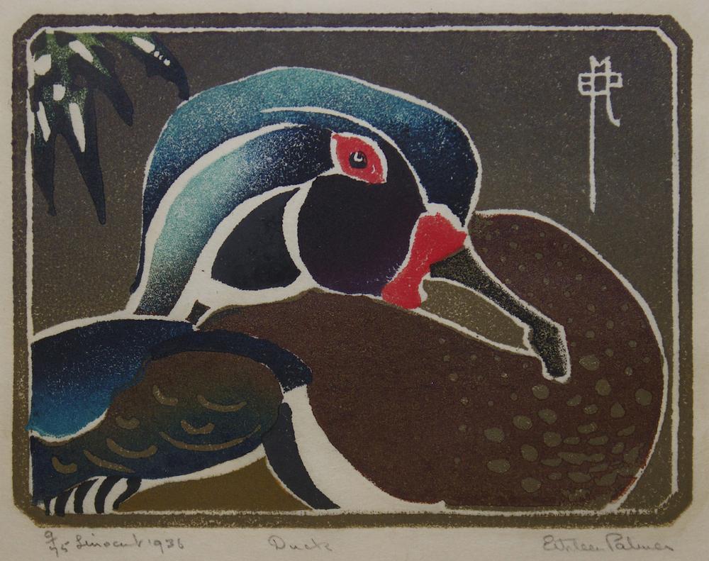 Ethleen Palmer - Duck 1936