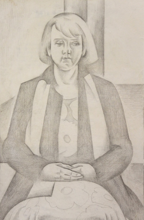 Untitled (Portrait Study) c1930