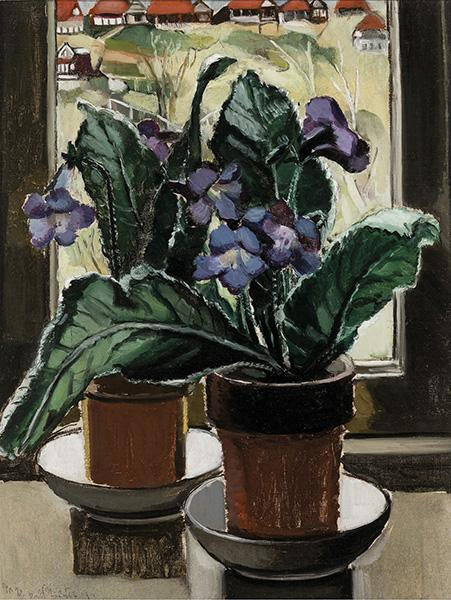 Margaret Preston - Gloxinia,1928