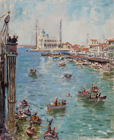 Dora Wilson - Impression of Port Said from S.S. Hobson's Bay