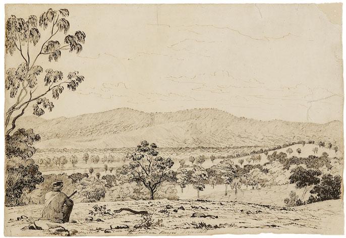 John Cotton - The Goulburn Ranges, Doogallook
