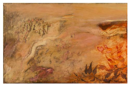 Robert Juniper - Pink Landscape, 1970