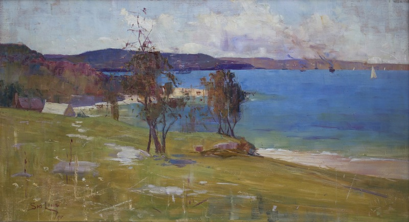 Sydney Long - Chinaman's Beach, Middle Harbour, 1895
