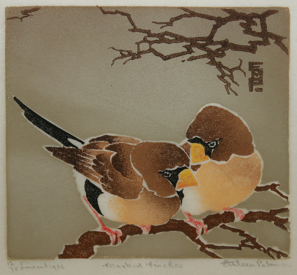 Ethleen Palmer - Masked Finches 1936