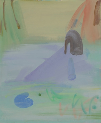Sam Fullbrook, Pond c.2003,oil on canvas-board 43.0 x 36.0 cm