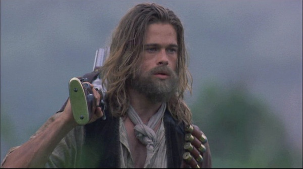 Brad Pitt, as Tristan, hunting bears in  Legends of the Fall .