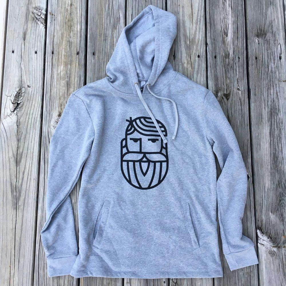 Bearded Savant hoodie (unisex)