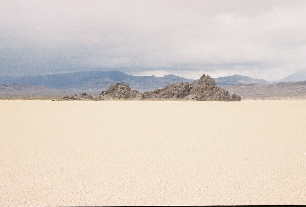 The Grandstand at Racetrack Playa