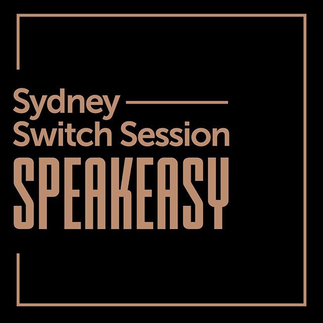 Tickets are free, and they are very limited. switchsessions.eventbrite.com.au . See you there?