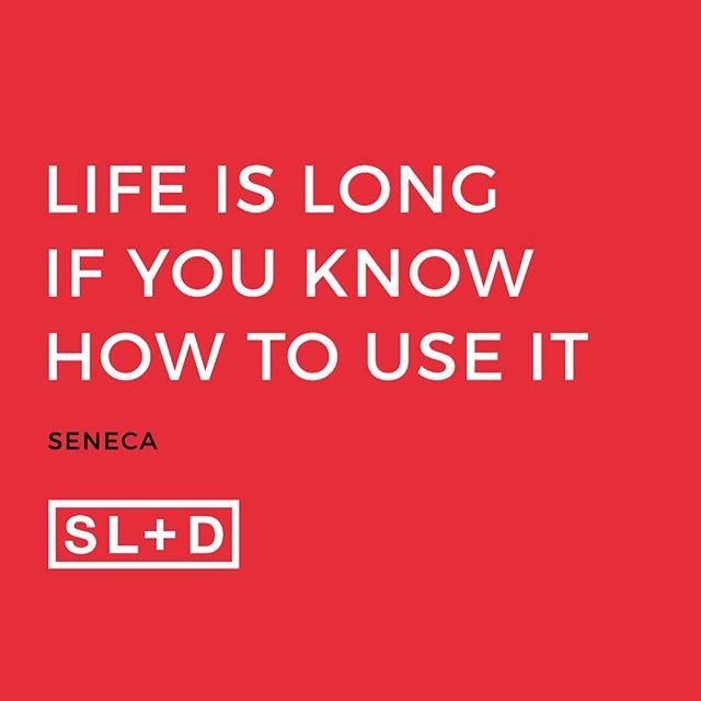 "@switchld Ancient wisdom from #Seneca with very real, very modern application : ""It is not that we have a short time to live, but that we waste a lot of it. Life is long enough, and a sufficiently generous amount has been given to us for the highest achievements if it were all well invested. But when it is wasted in heedless luxury and spent on no good activity, we are forced at last by death's final constraint to realize that it has passed away before we knew it was passing. So it is: we are not given a short life but we make it short, and we are not ill-supplied but wasteful of it… Life is long if you know how to use it"". I'm curious - do you agree with Seneca? How are you making your time count? #switchld #makeitcount"
