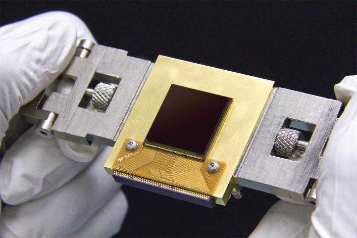The NEOCam in the hands of a technician. Credit: NASA/JPL-Caltech/Teledyne