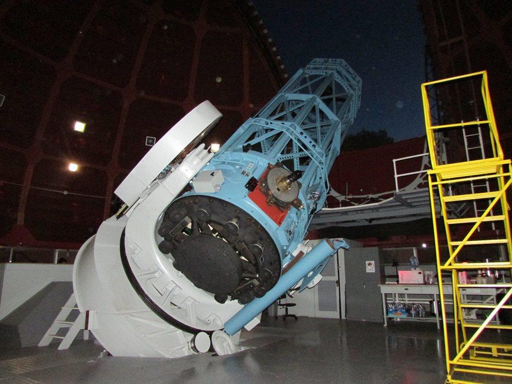 "The 60"" telescope at the Mount Wilson Observatory near Los Angeles, California. Credit: Gene Mikulka"