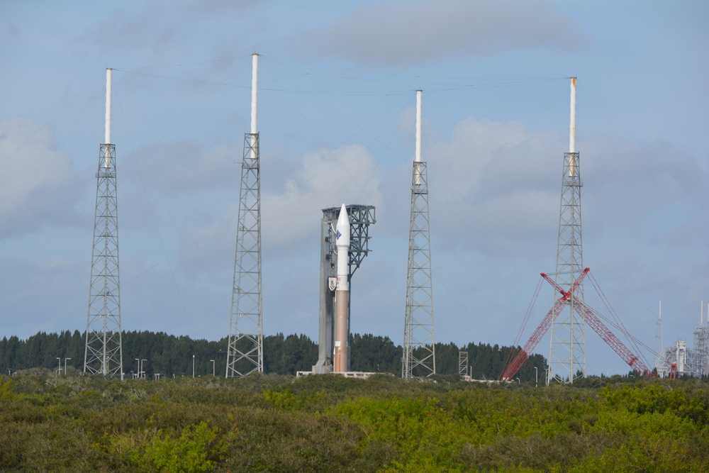 ATLAS V Ariving at SLC41 #OA4