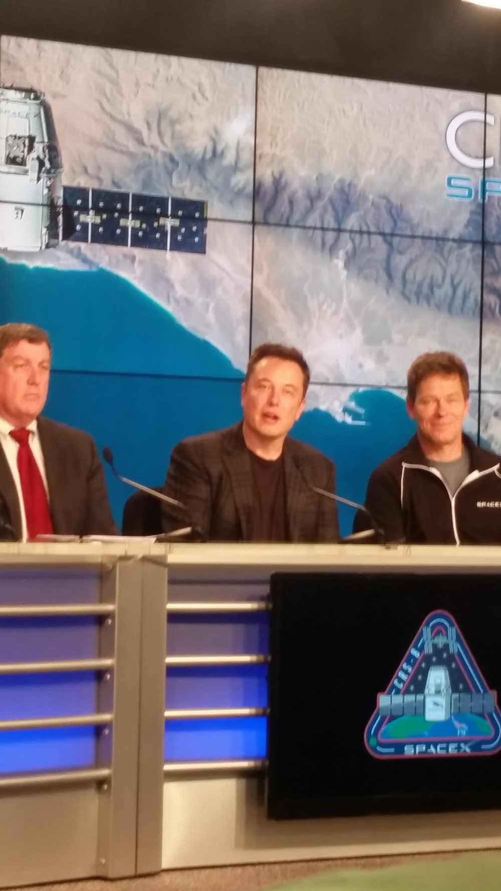 Elon Musk at Press Conference