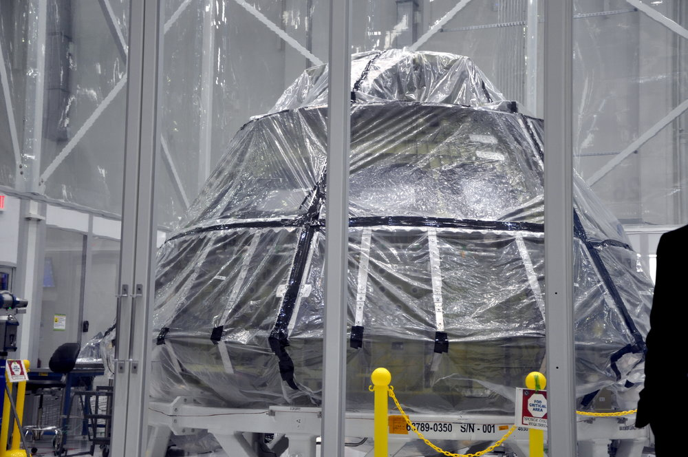 The Orion Capsule for EM-1