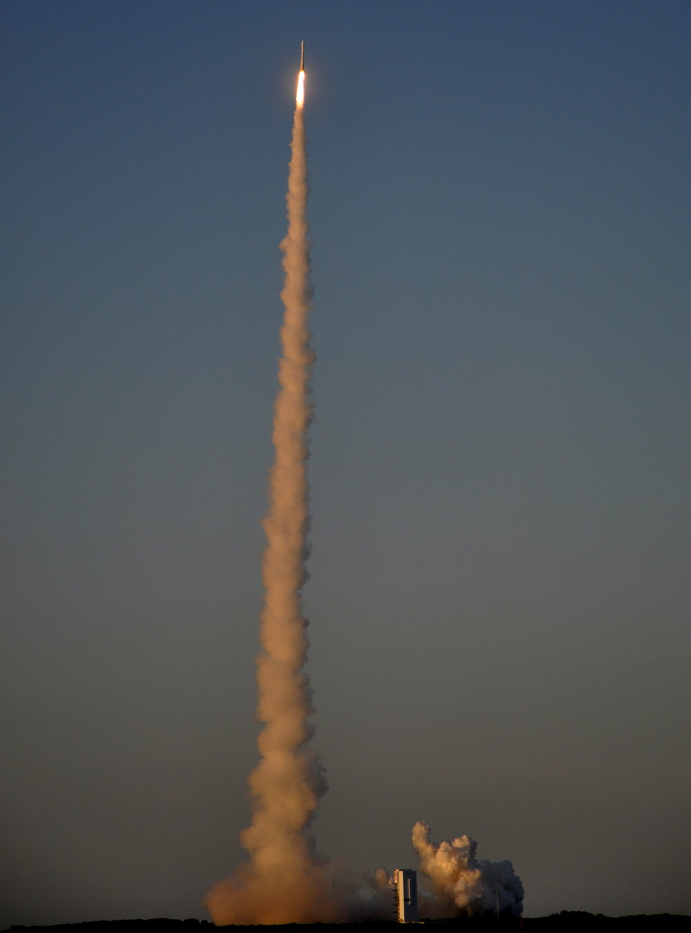 Launch at Dusk