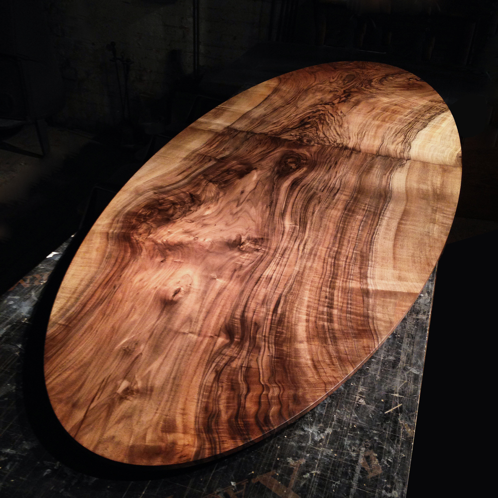 Bastogne walnut top