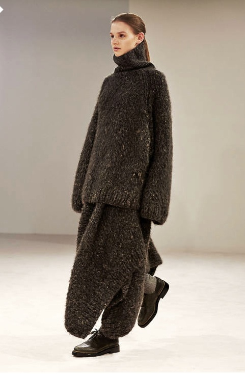 Fall 2014 collection Alessandra Lucioni. Seriously, if there's another Polar Vortex this winter, you might see me walking around Chicago in this outfit.