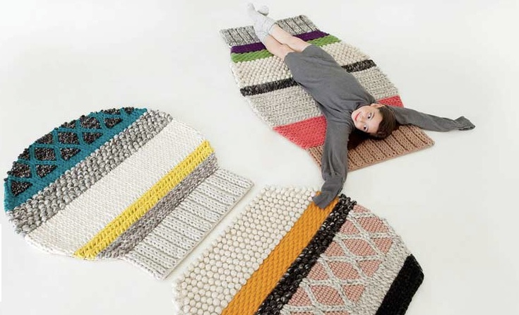 And definitely a few of these mini sweater rugs. Again by GAN rugs.
