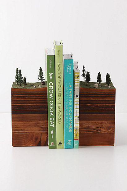 """Chicago based artist, Garth Borovicka, makes these beautiful """"bookends of the Earth"""". One of these days, I need to own the """"ice flow"""" version. (top)Handmade in Chicago, check them out here."""