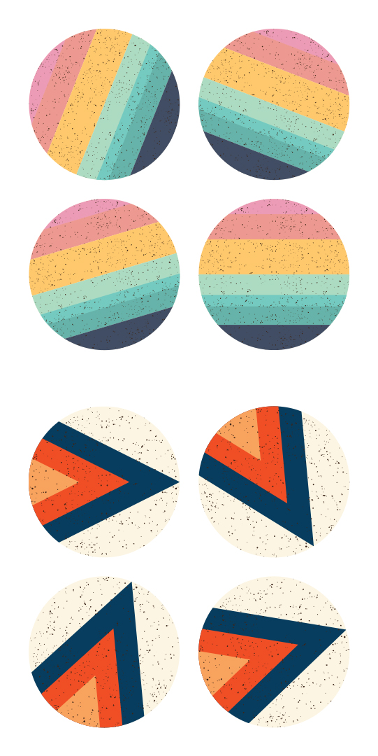 COMING SOON COASTERS! set of 4 wood coasters featuring Tramake illustrations