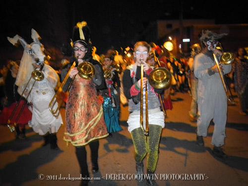 Krewe of Eris marching