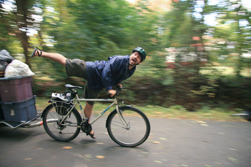 Bicycle Acrobatics