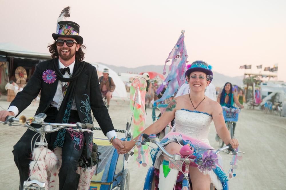 Burning Man Wedding