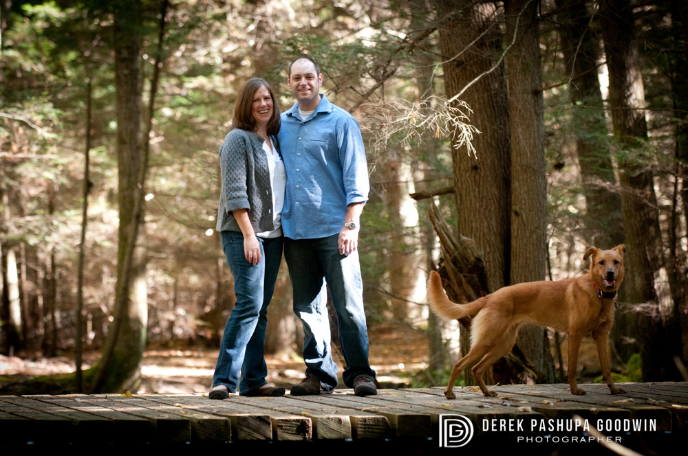Kara & Tom engagement photograph
