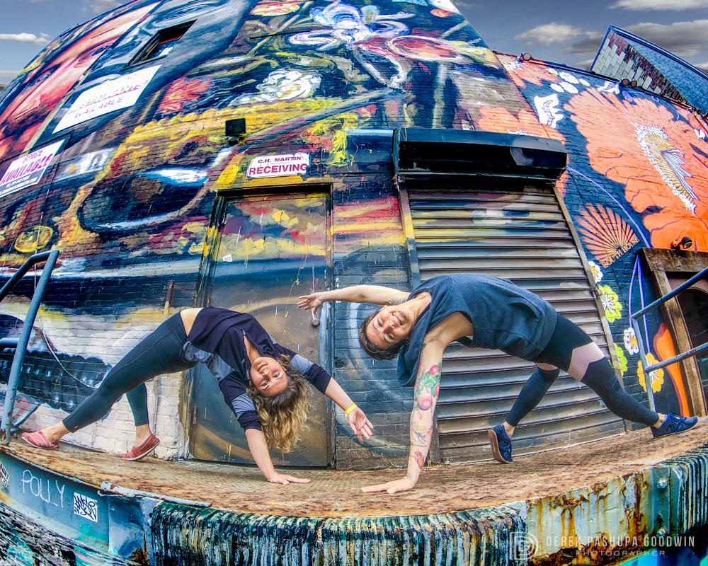 Katherine zekely and Jessica Stickler