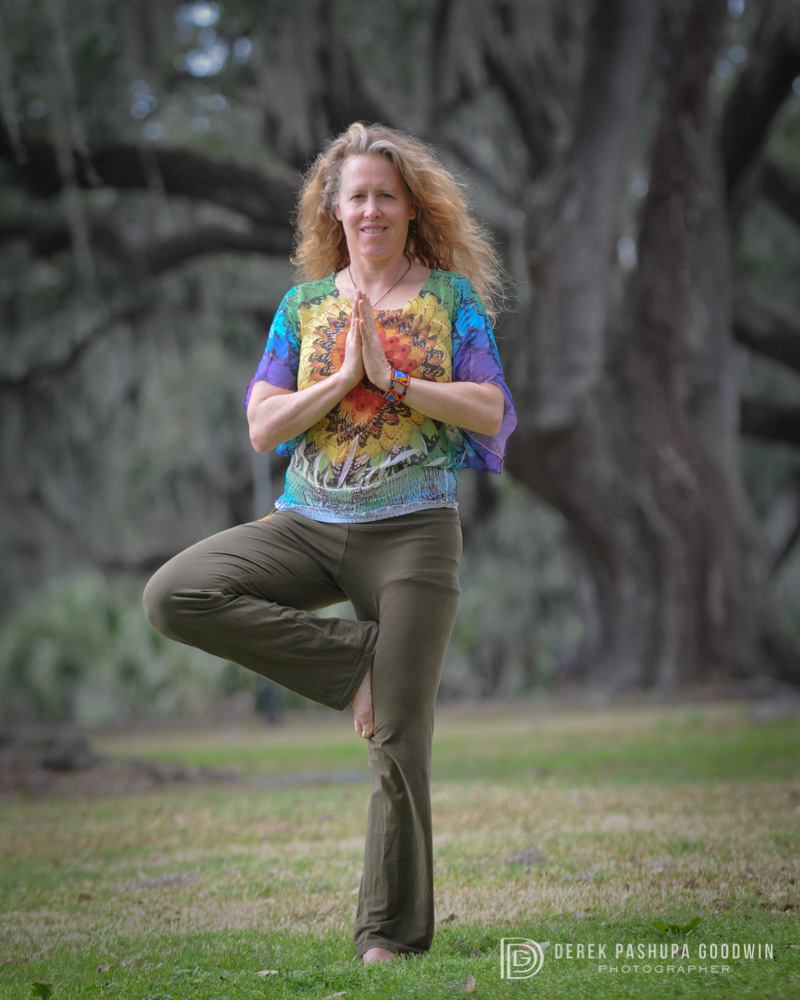 Steph Smith in Tree Pose