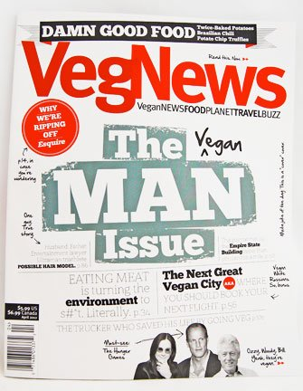 VegNews Vegan Man Issue