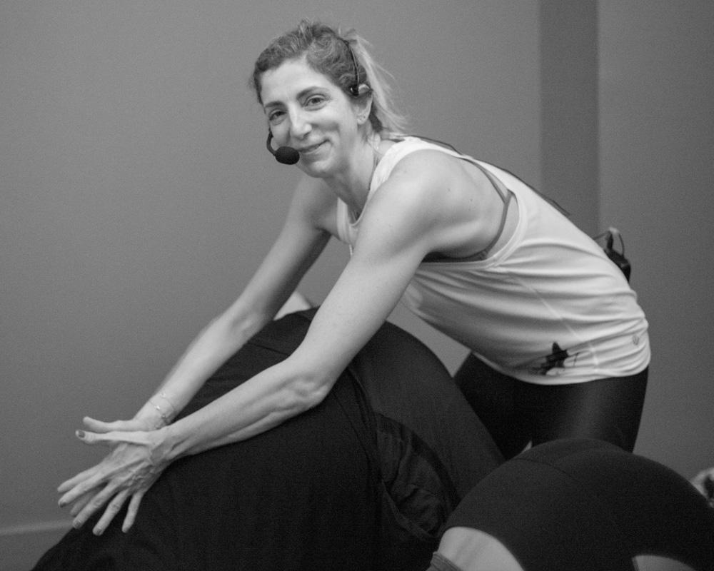 Rima Rani Rabbath giving yoga assist