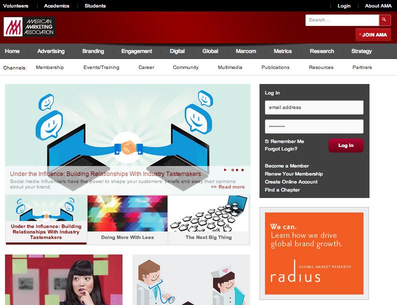 AMA.org Homepage