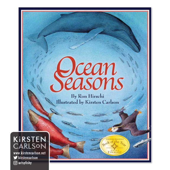 You can order Ocean Seasons from your local bookstore, Amazon.com or direct from the publisher (Arbordale Publishing).