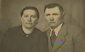 "Michalina and Cyprian Janicki; they are listed on the walls of Yad Vashem among ""The Righteous"" who helped Jews escape persecution."