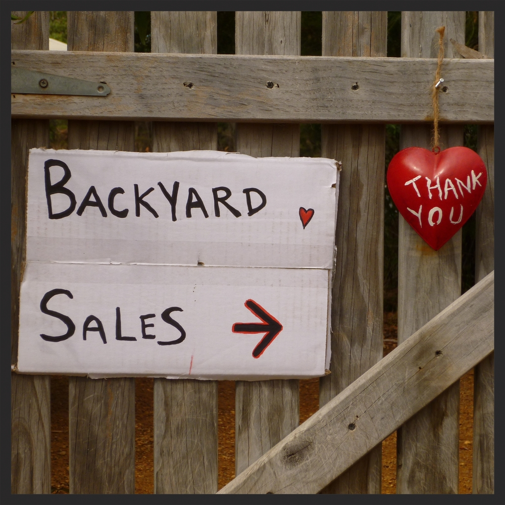 Backyard Sales