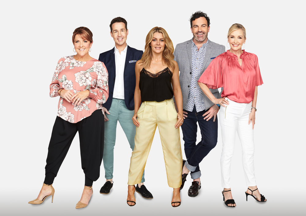 Changing Rooms Australia – Natalie Bassingthwaighte Naomi, Chris, Nat, Tim and Jane.jpg
