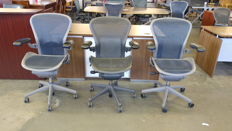 Herman Miller Aeron Office Chairs Portland Office Furniture