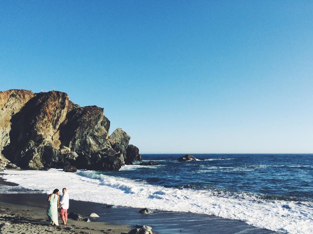 Stevie & Nori Big Sur engagement