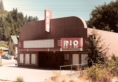 Rio Theater - before the hand-painted movie posters