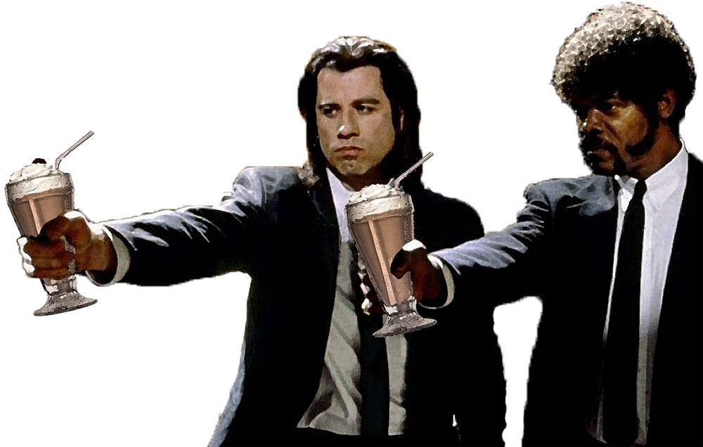 Фото кафе в стиле криминального чтива тяжелая