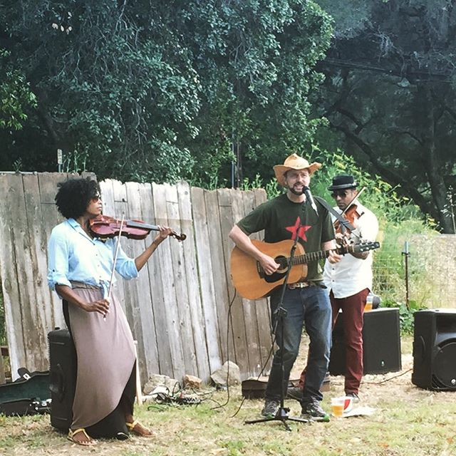 The Benefits. Performing at #foodandfarmfilmfest.