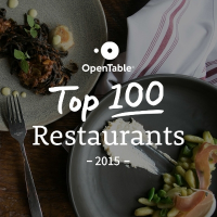 Top 100 Restaurants in America for 2015