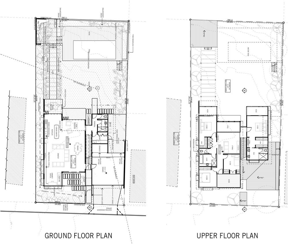 ross street - plans