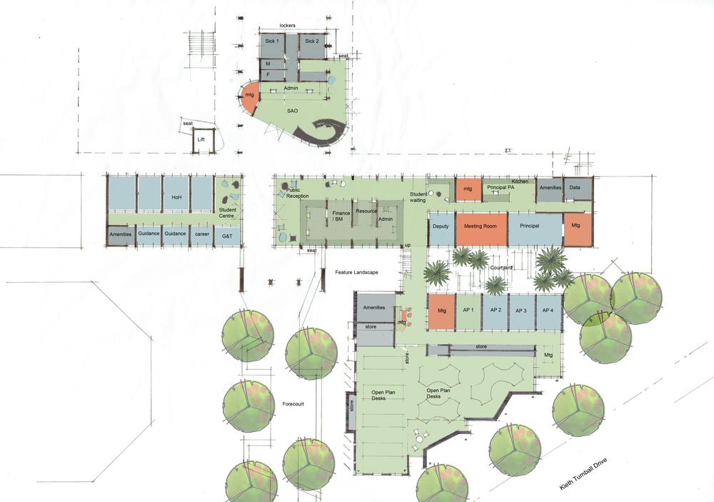 Ground Floor Plan - Concept Sketch