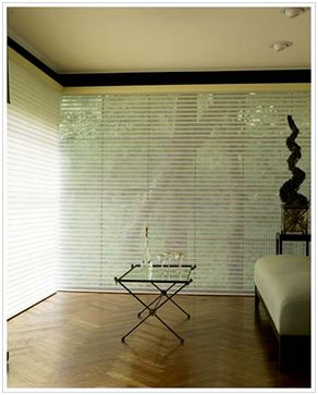 A versatile product with many design options, sheer shades are ideal for both a modern or traditional look.