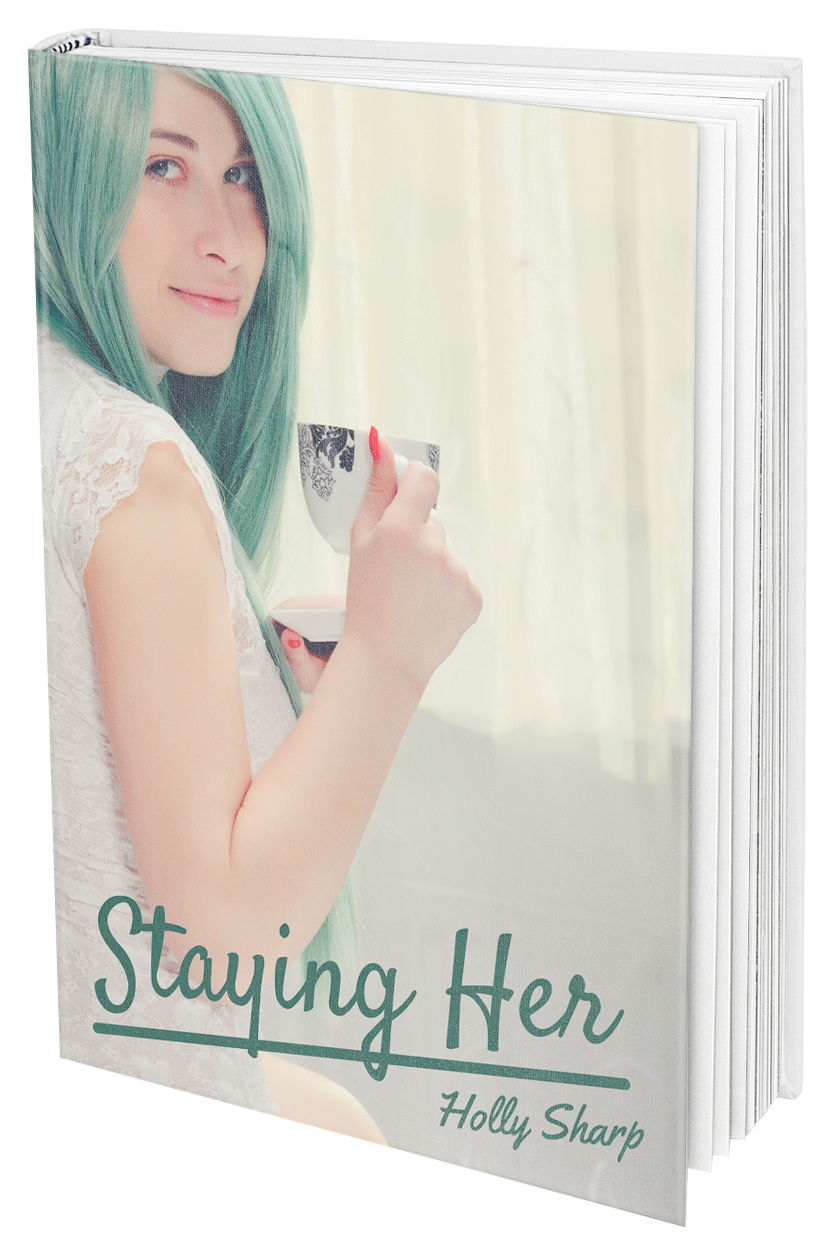 Staying Her: A Transgender Romance - True love doesn't burn, it smolders. Or, at least that's what James had always thought. That is until he meets Kirsty, a beautiful and enigmatic woman with emerald hair. There's only one problem: Kirsty is actually a man – a man who happens to spend every waking moment of his time as a girl – but a man nonetheless. Well, that and the fact that James is in a relationship, one that he doesn't plan on getting out of anytime soon.