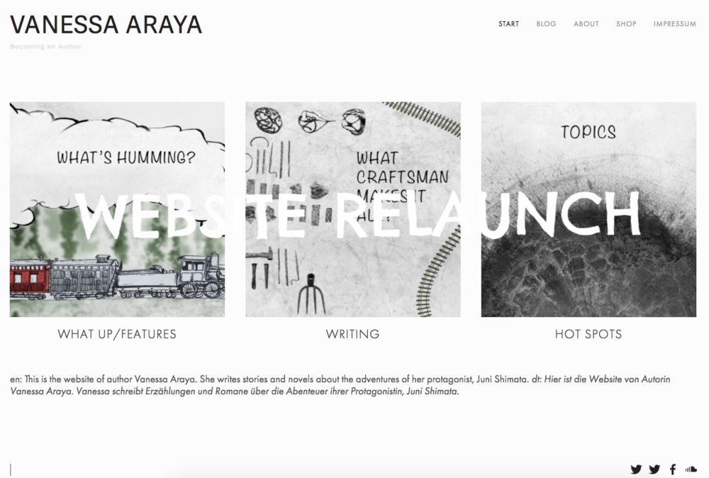 WEBSITE RELAUNCH